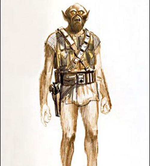 Chewie, circa 1977