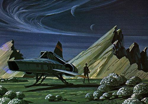 Viper Mk II from Battlestar Galactica